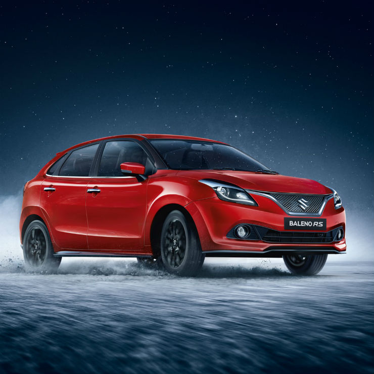 Baleno Rs Red