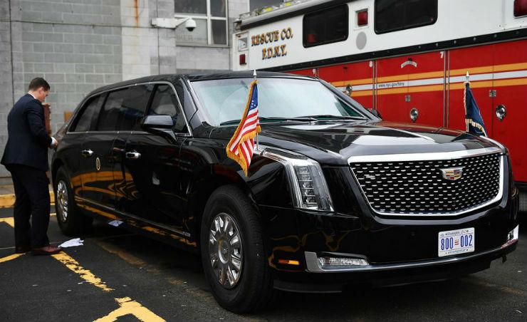 Cadillac One Trump 1