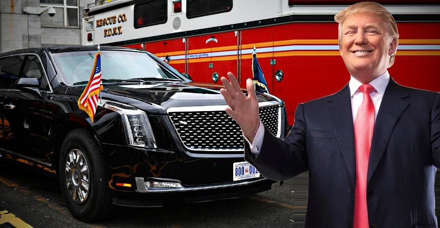 Donald Trump Cadillac One Beast Featured
