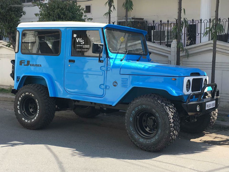 Fj Cruiser Bluew