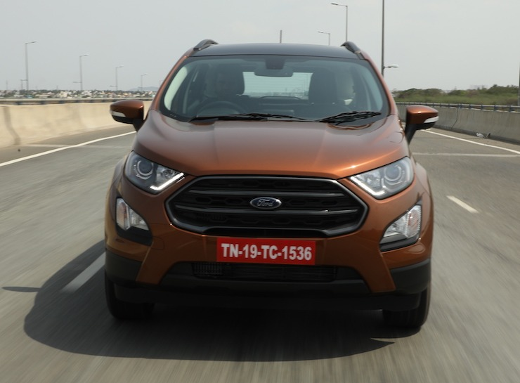 Ford Ecosport S Brown 4