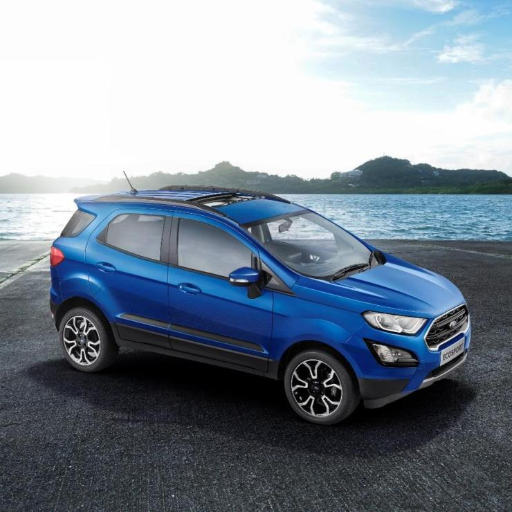 Ford Ecosport Signature Edition Blue 5
