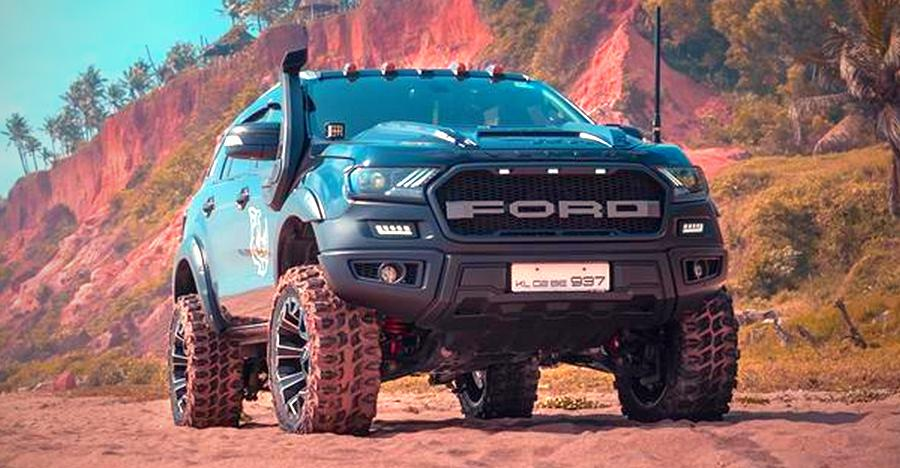Ford Endeavour Modified Featured