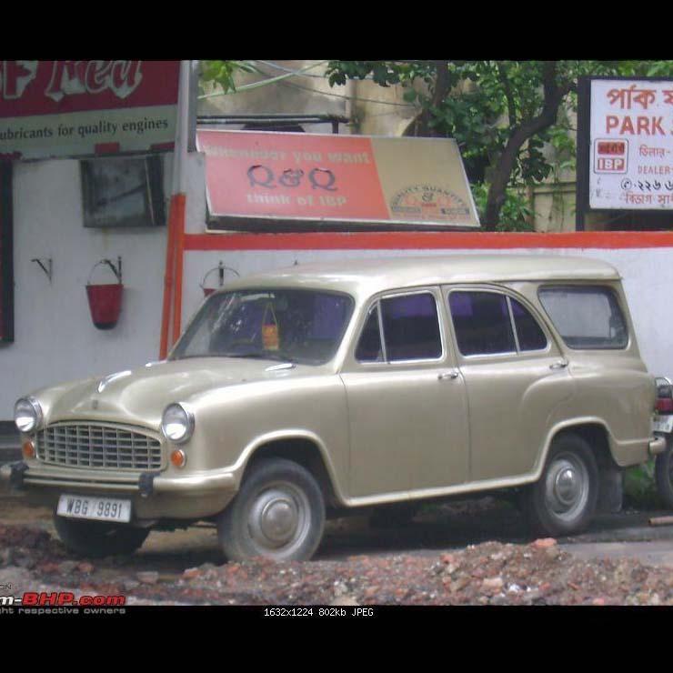 Hindustan Ambassador Estate Version