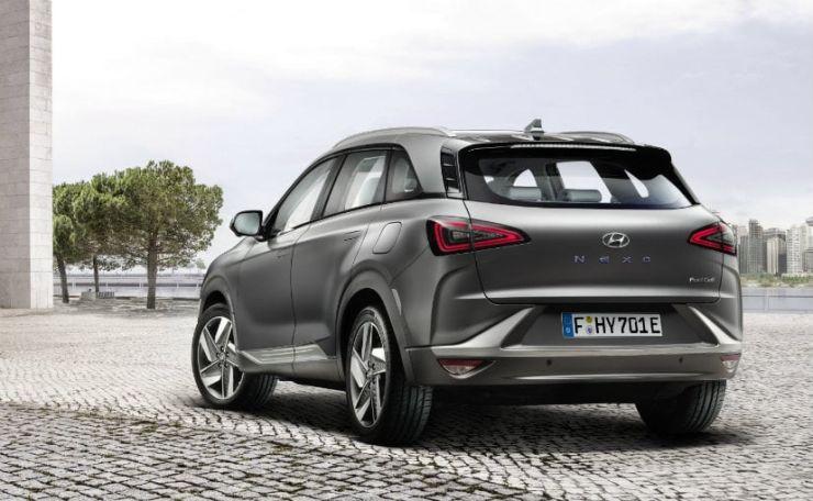 Hyundai Nexo Rear Big