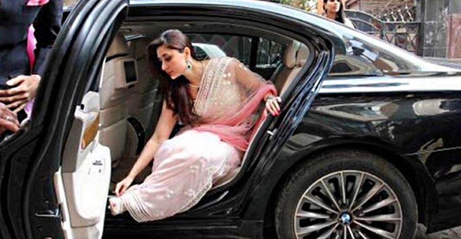 Kareena Kapoor Bmw 7 Series