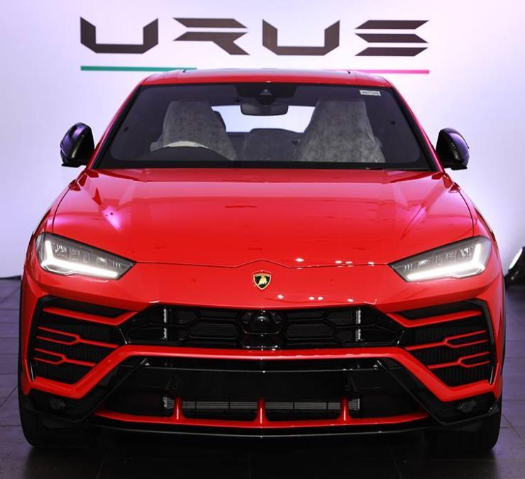 Lamborghini Urus India 2