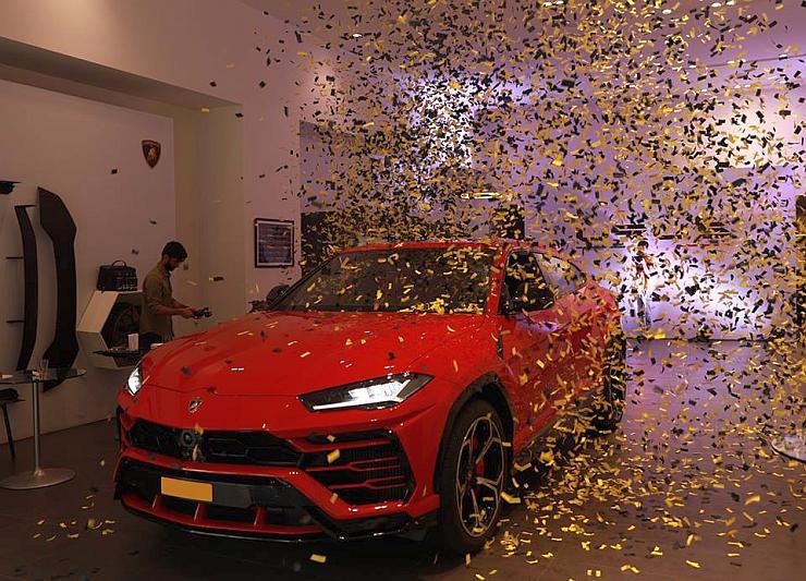 Lamborghini Urus India 3