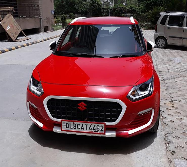 Modified New Maruti Swift Loud