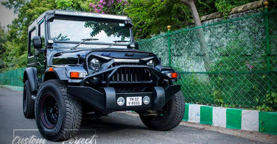Modsters Mahindra Thar Featured