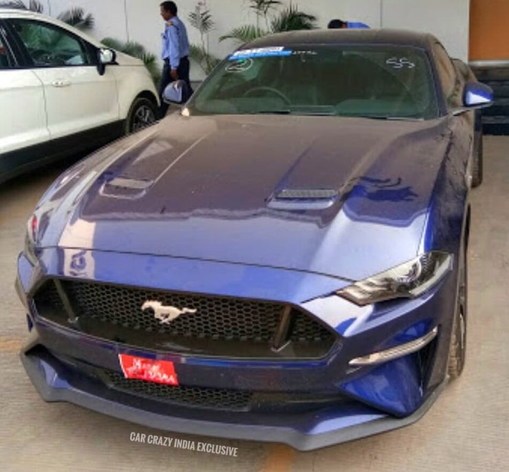 Mustang Facelift 1