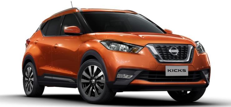 Nissan Kicks Compact Suv 1