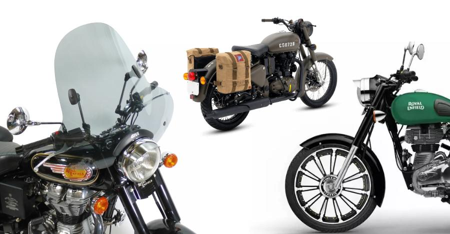 Royal Enfield Accessories Featured