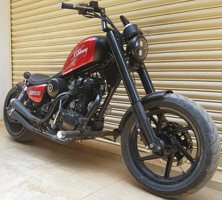 Royal Enfield Classic 500 Based Yaksang 1