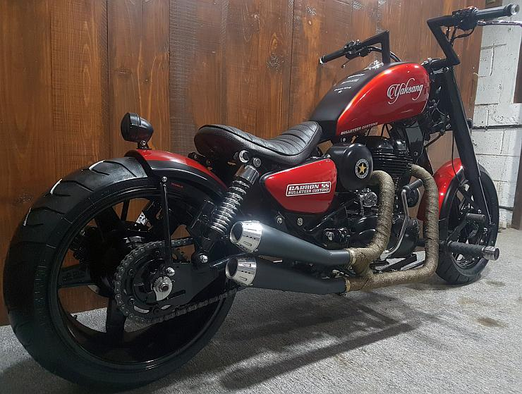 Royal Enfield Classic 500 Based Yaksang 3