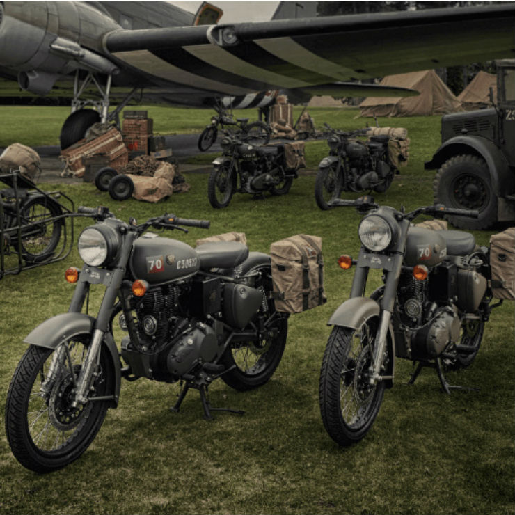 Royal Enfield Pegasus India