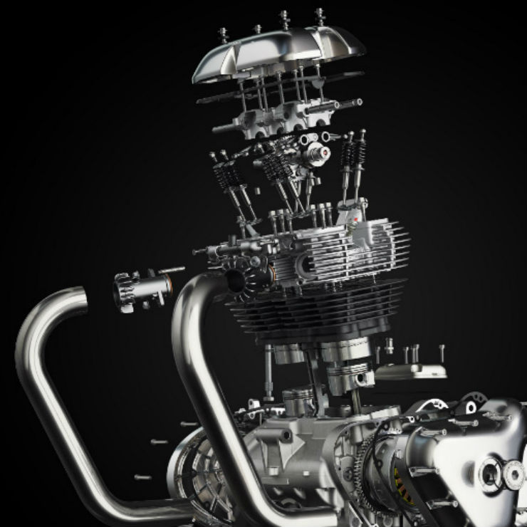 Royal Enfield Twin Engine Diagram 9