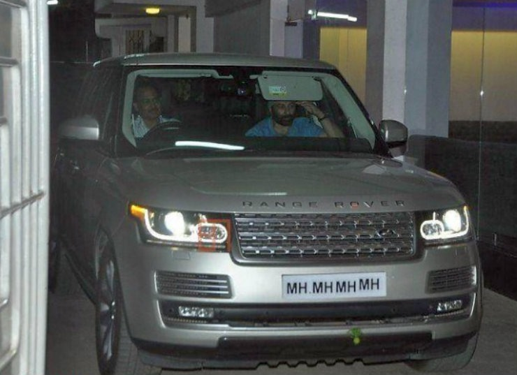 Sunny Deol Range Rover Autobiography