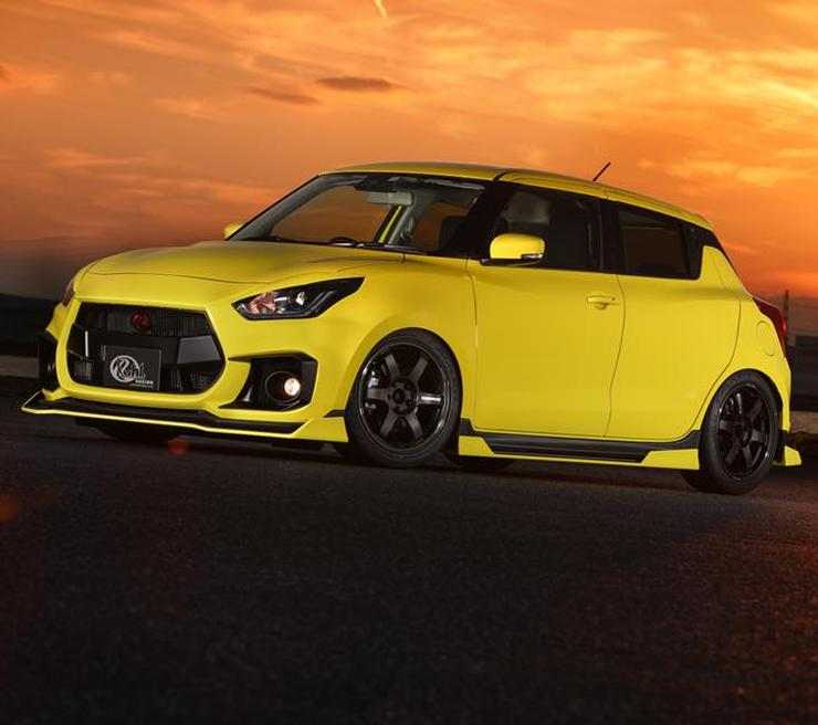 Suzuki Swift Sport Kuhl Racing 1
