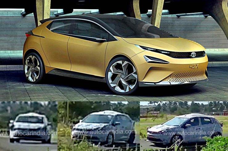 Tata 45x Spy Pics