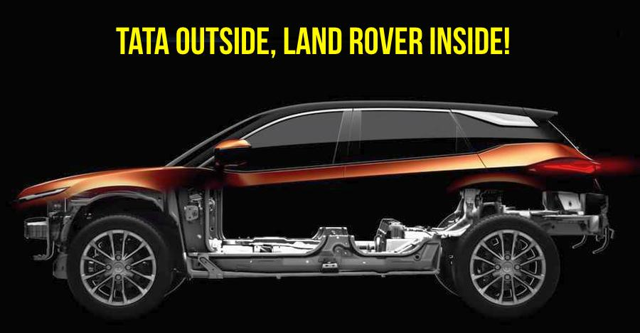 Tata Harrier Land Rover Featured