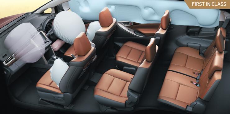 Toyota Innova Crysta Airbags