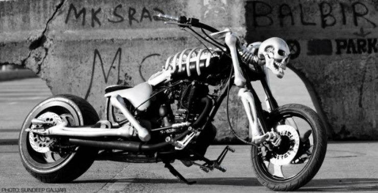 Vardenchi Customs Skeletor Jackie Shroff