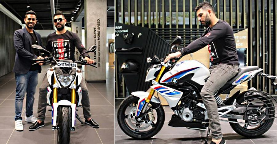 Yuvraj Singh Bmw G 310r Featured