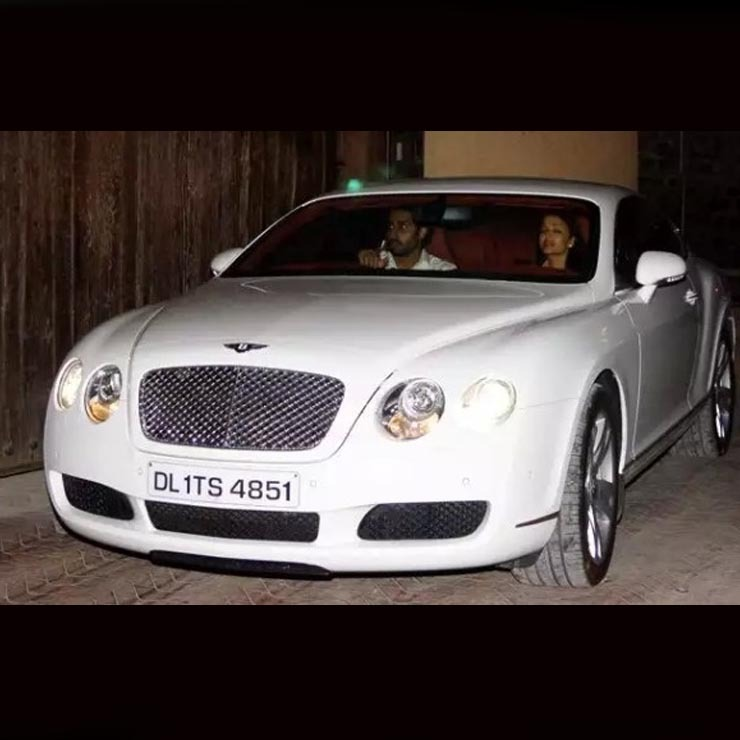 Abhishek Bachchan Bentley Conti