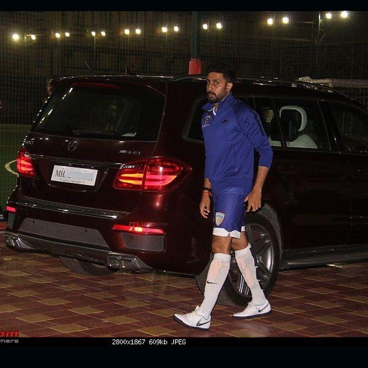 Abhishek Bachchan Mercedes Gl63 Amg