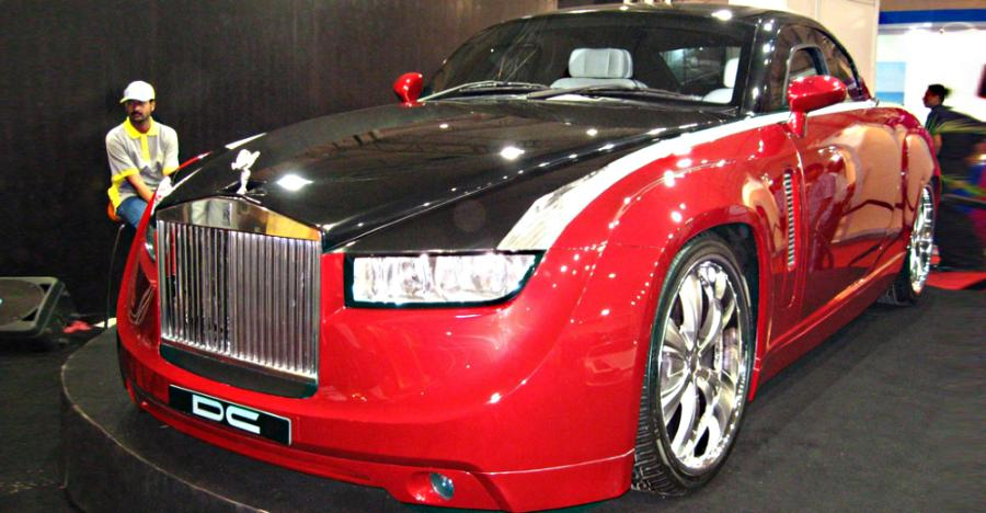 Dc Design Modified Rolls Royce