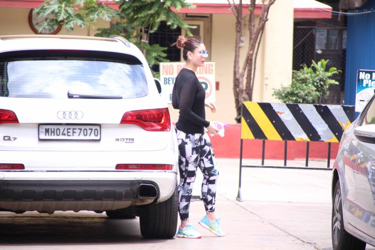 Kareena Kapoor Audi Q7