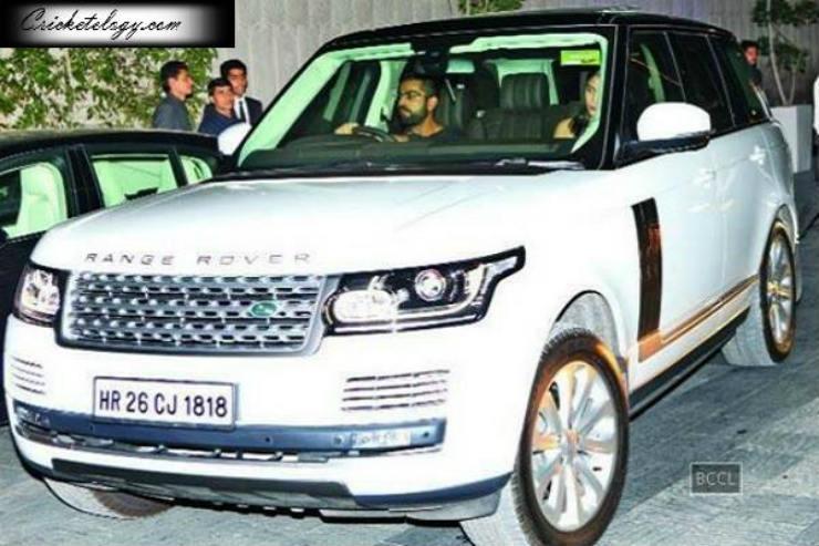 Virat Kohli Range Rover