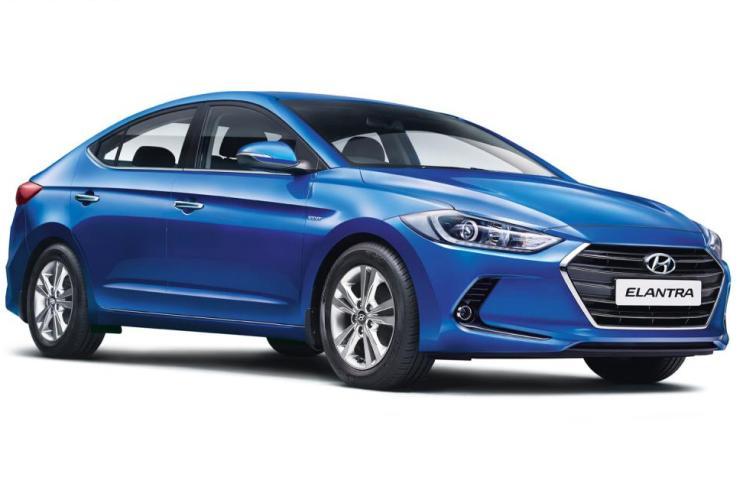 2018 Hyundai Elantra Blue