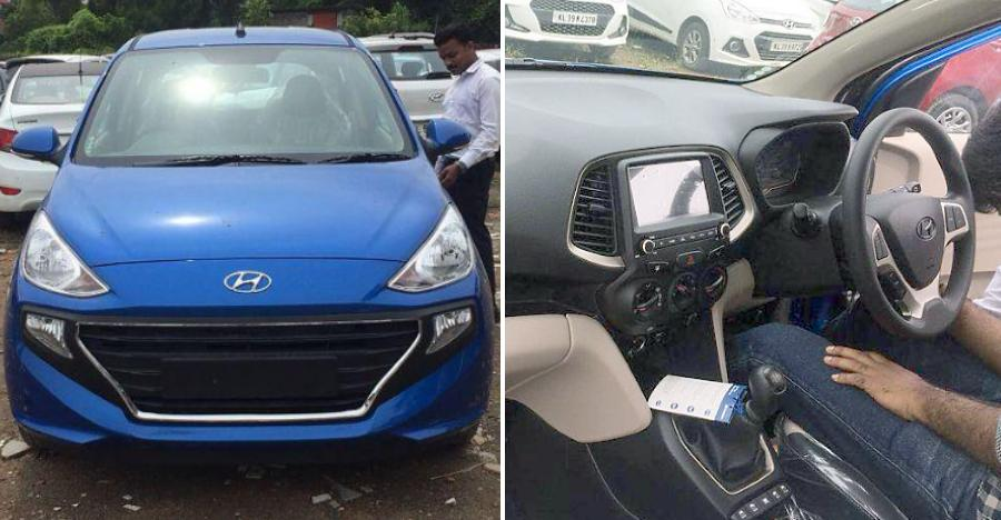 2018 Hyundai Santro Blue Spotted Featured