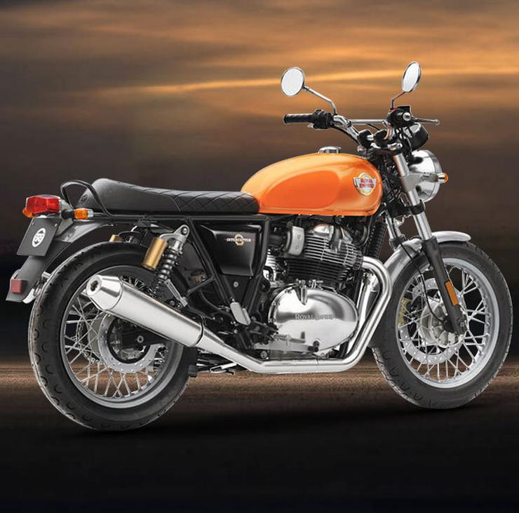 2019 Royal Enfield Interceptor 650 Production Version 4