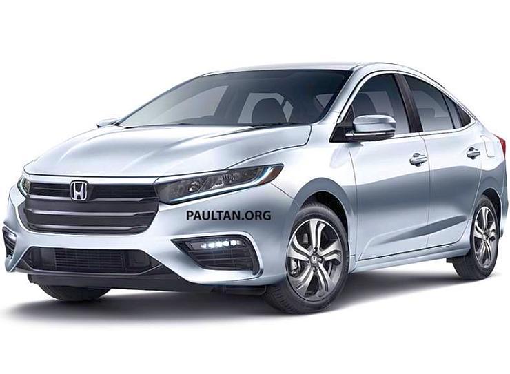 2020 Honda City Render 1