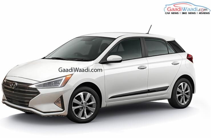 2020 Hyundai Elite I20 Render