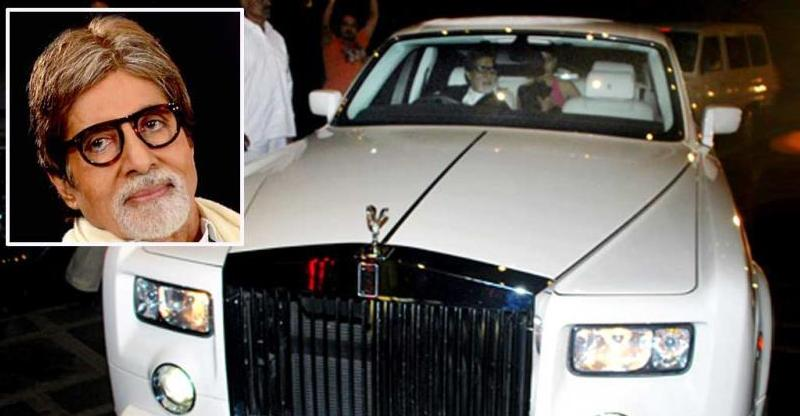 Amitabh Bachchan Expensive Rolls Royce Featured