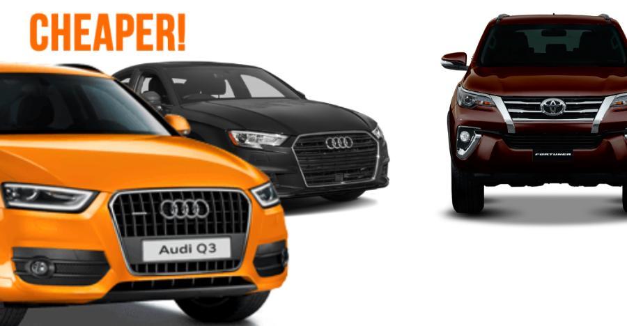 Audi Cheaper Fortuner Featured