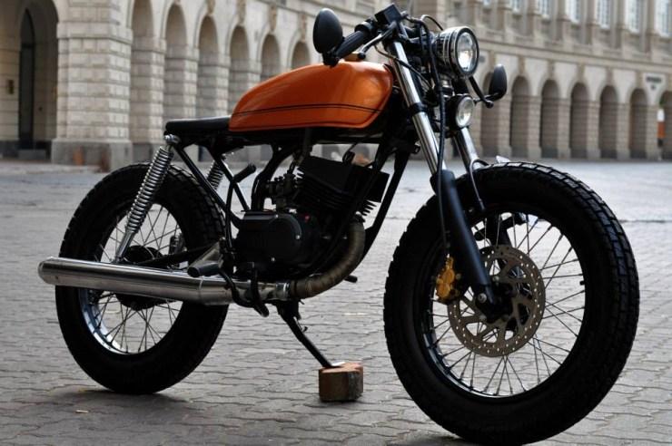 Bombay Custom Works Yamaha Rx135 4