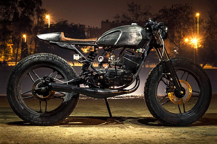 Bull City Customs Yamaha Rx135 5