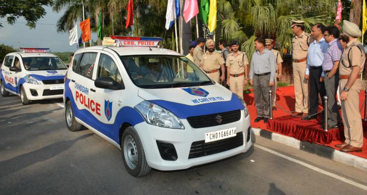 Ertiga Indian Police