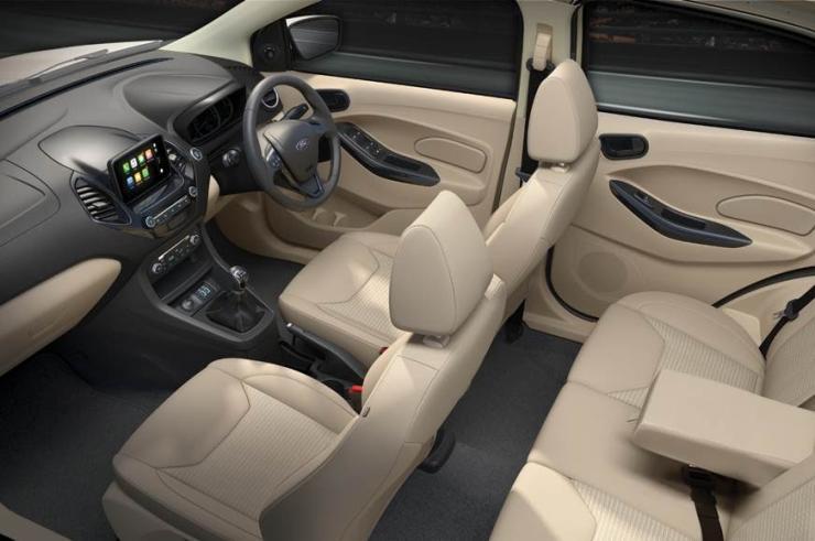 Ford Figo Aspire Facelift Studio Shot 1