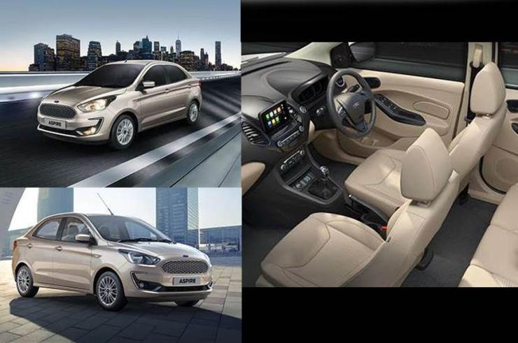 Ford Figo Aspire Facelift Studio Shot 4 (1)