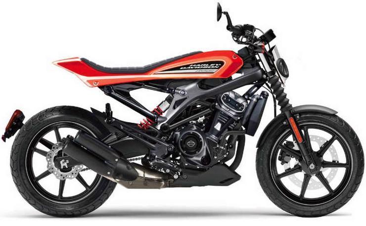 Harley Davidson 250cc Motorcycle Render
