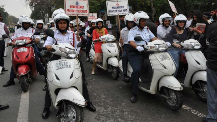 Honda Activa Police