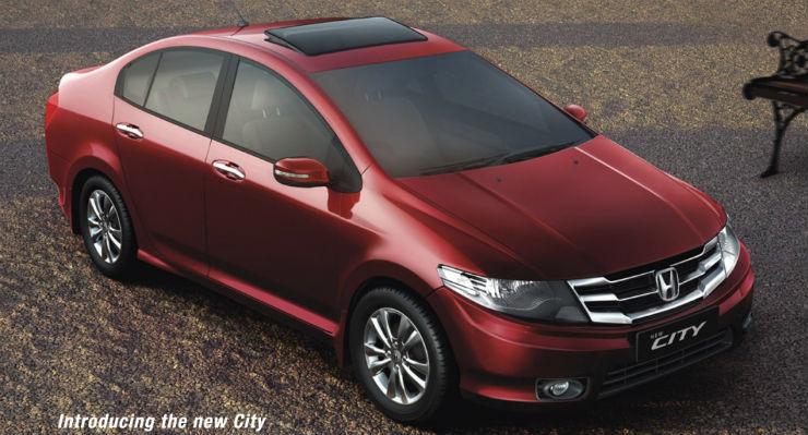 Honda City Red