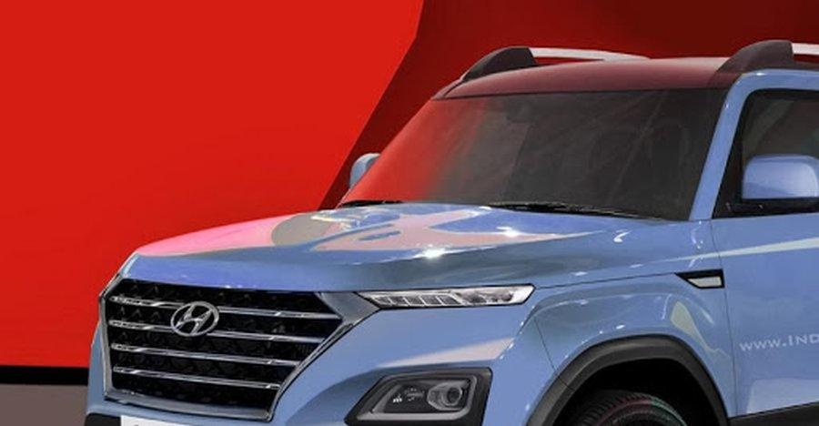 Maruti Brezza को टक्कर देने वाली अपकमिंग Hyundai QXi (Carlino) SUV के 6 विभिन्न रेंडर