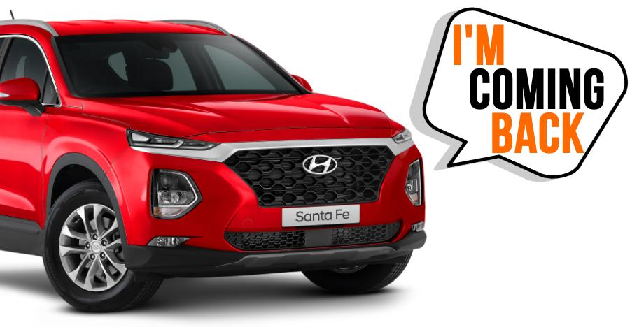Hyundai Santa Fe Comeback Featured